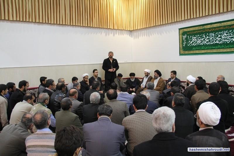 اقامة احتفالية ذكرى ولادة الإمام الحسن العسكري عليه السلام بحضور سماحة آية الله العظمى السيد محمود الهاشمي(مدظله)
